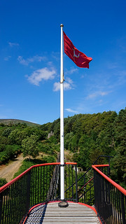 On Top of the Great Laxey Wheel