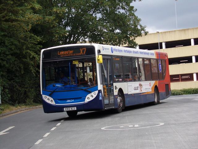 Stagecoach ADL Enviro 300 (Scania K320UB) 28624 KX12 ALU