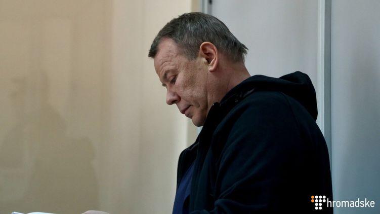 Станислав Денисюк на скамье подсудимых