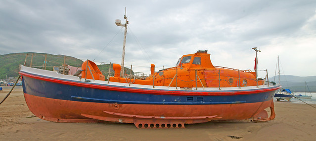 Lifeboat at Barmouth