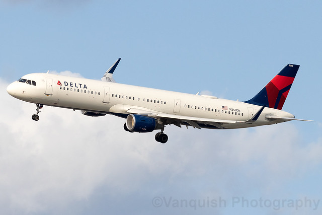 N358DN Delta Airlines A321 New York LaGuardia