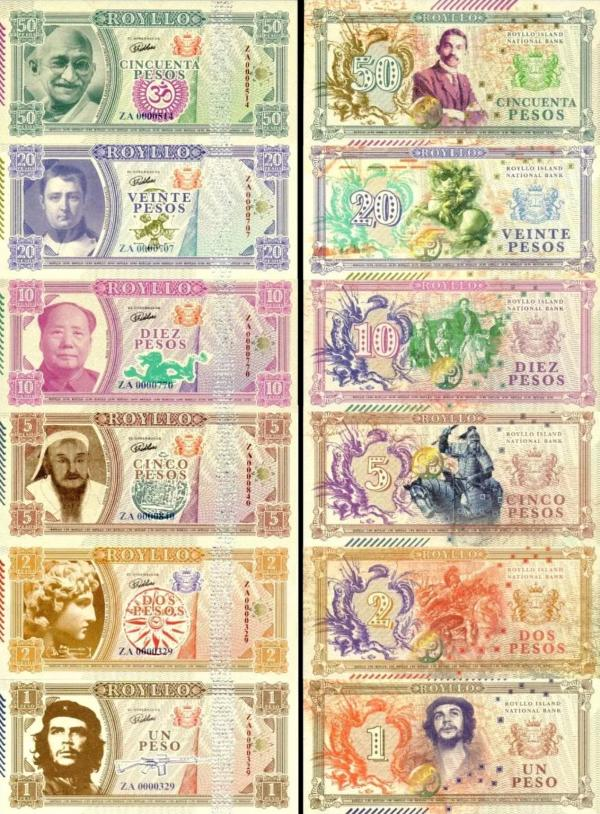 Royllo 1-2-5-10-20-50 Pesos 2017