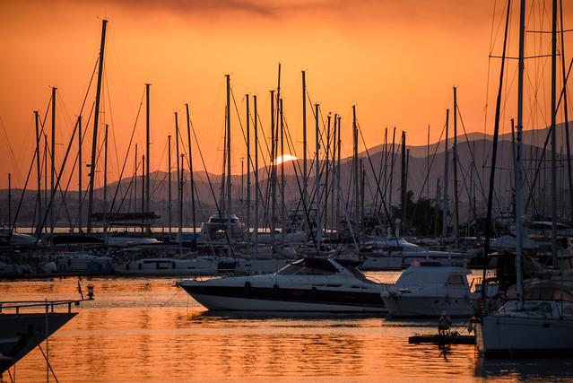 Άλιμος Ηλιοβασίλεμα - sunset [few seconds remaining]