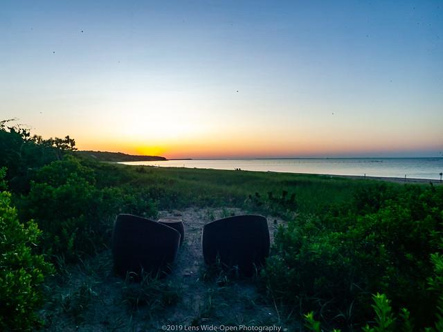 Sunset at Sammy's Beach