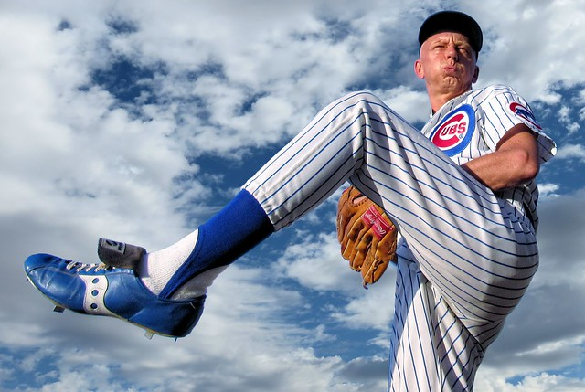 Chicago Cubs Baseball Pitcher