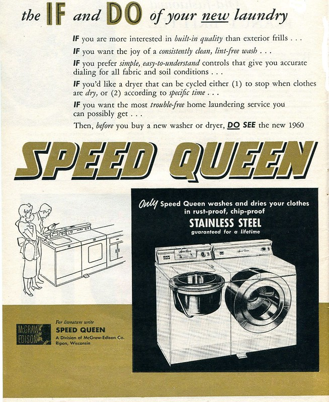 Speed Queen 1960