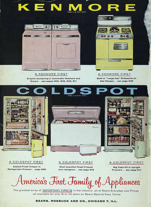 Sears Kenmore, Coldspot 1958