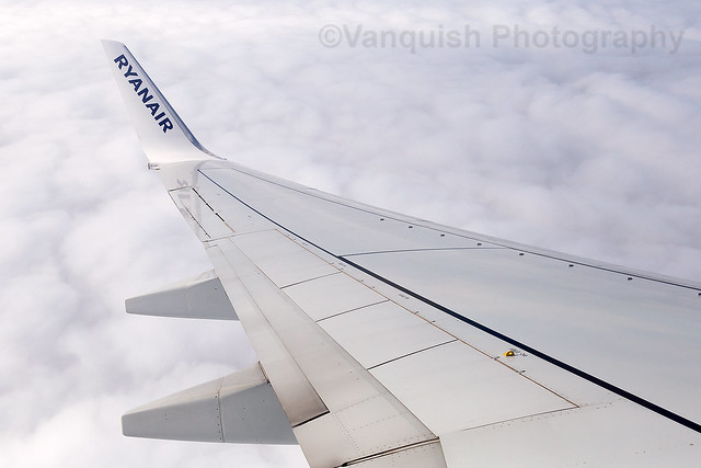 EI-FZR Ryanair B737-800 Departing London Stansted Airport