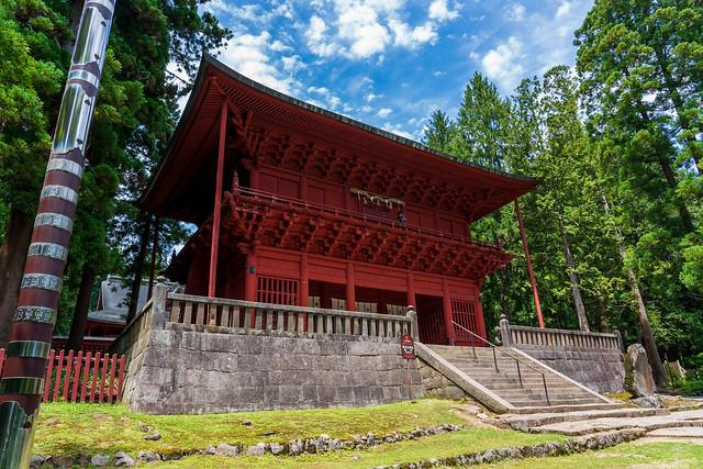 岩木山神社山門