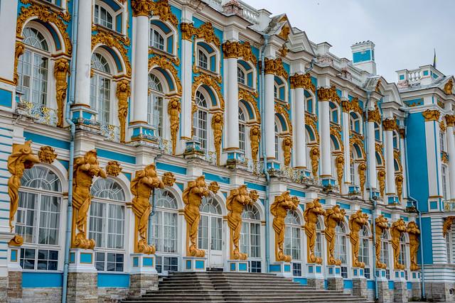 Catherine Palace II, Tsarskoye Selo (Pushkin)