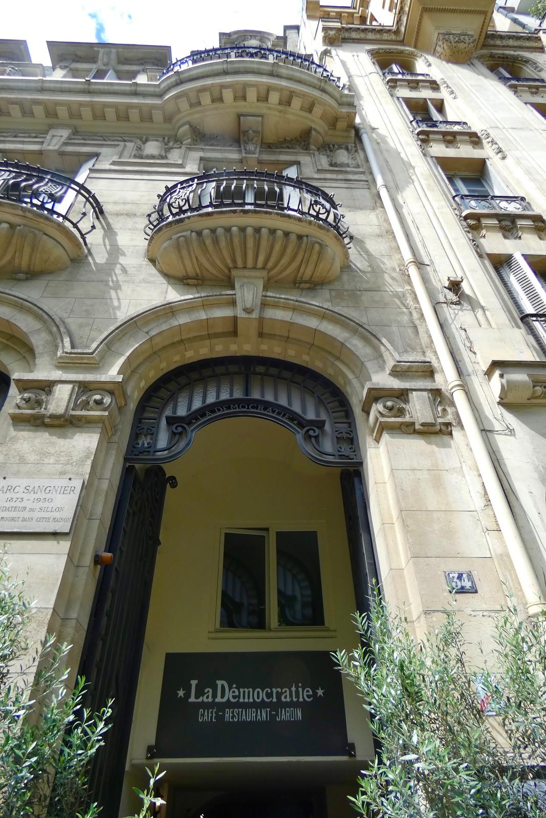 Restaurant La Démocratie, Paris