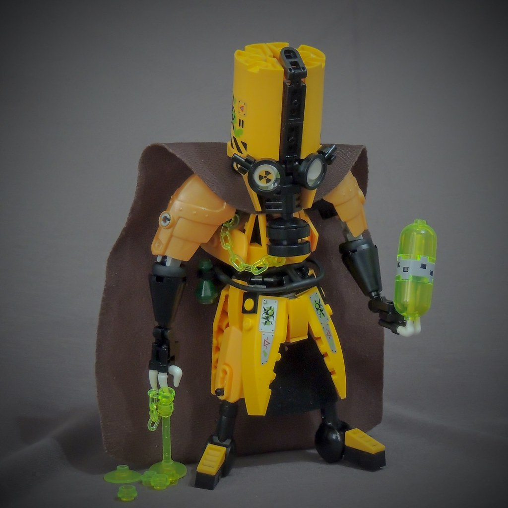 Contaminator (custom built Lego model)
