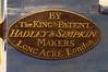1790 Hadley, Simpkin and Lott Handdruckspritze