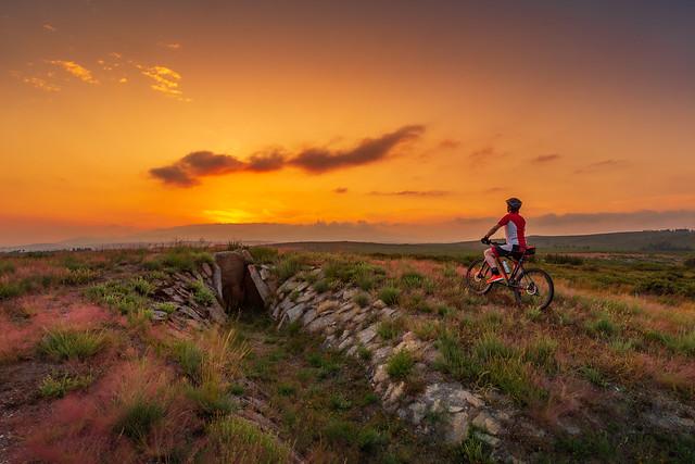 Megalithic sunset