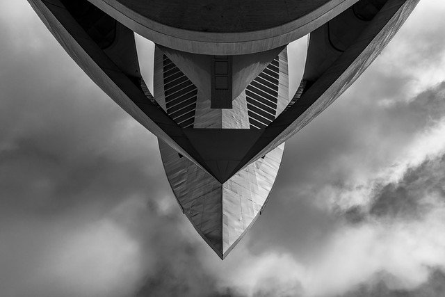the spaceship above me