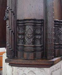 font cover (detail, late 16th Century)