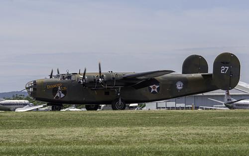 B-24 Transport Taxiing