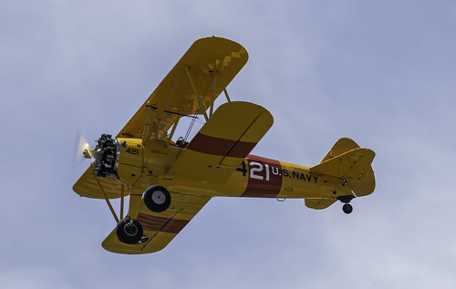 Taking Pictures from the Stearman