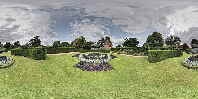 The Vyne Gardens Panorama