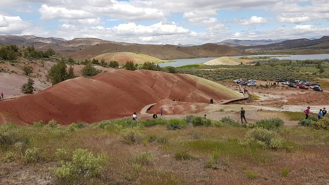 Painted Cove Trail at John Day Fossil Beds NM, OR