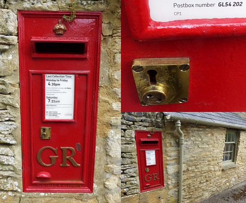 Postbox number GL54 202