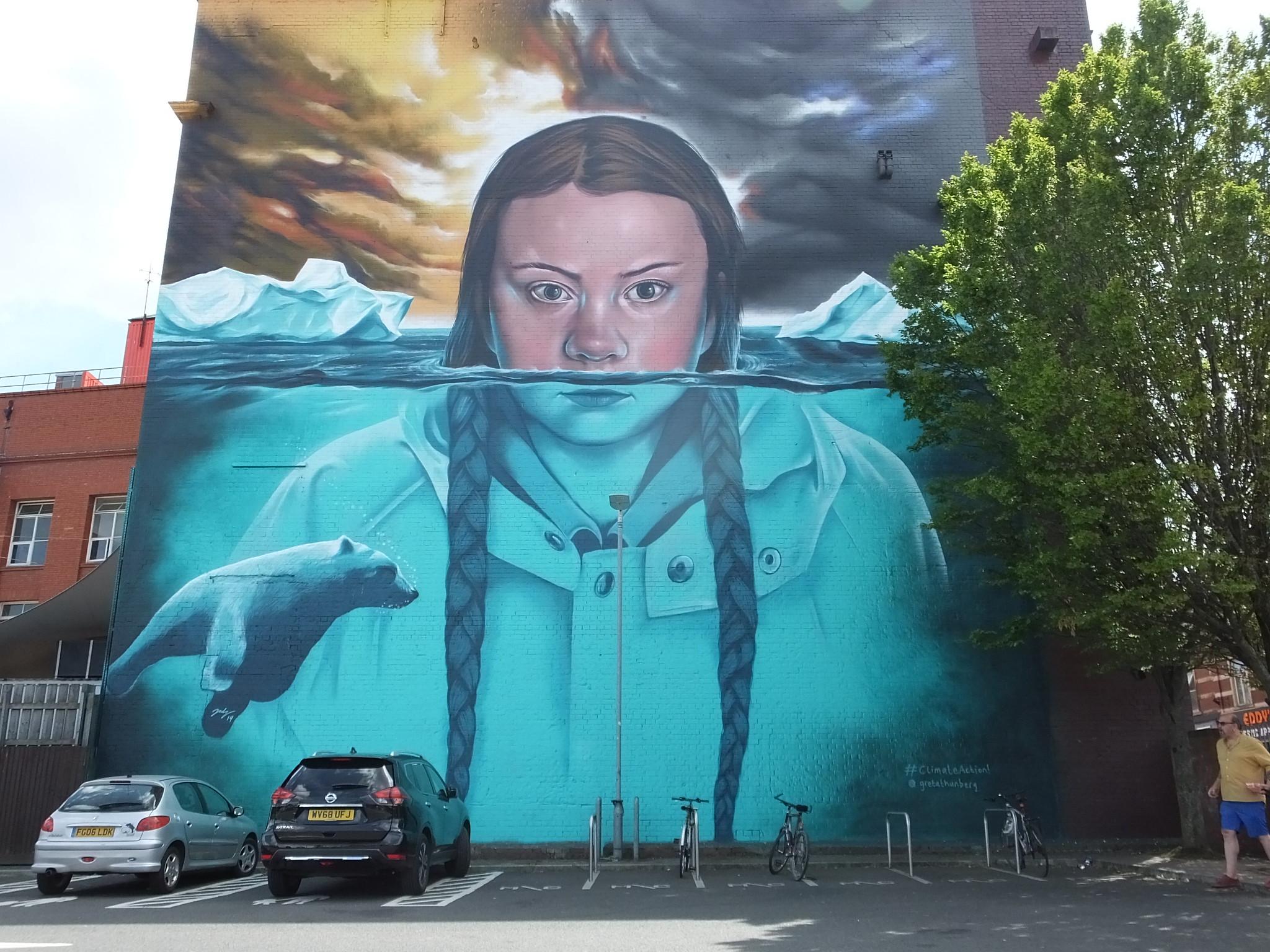 Bristol Street Art: Jody