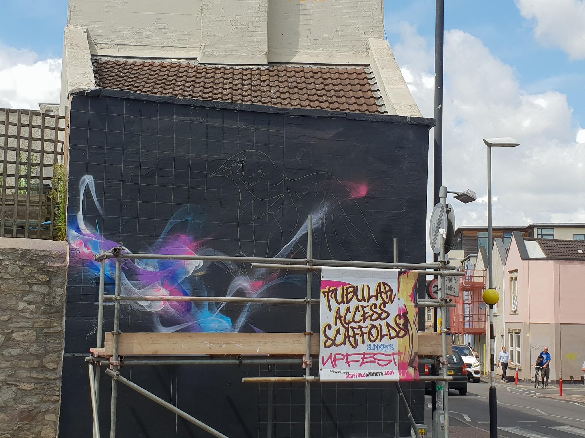 Bristol Street Art: L7 Matrix