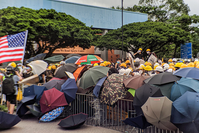 20190714 Hong Kong Shatin anti-extradition bill protest