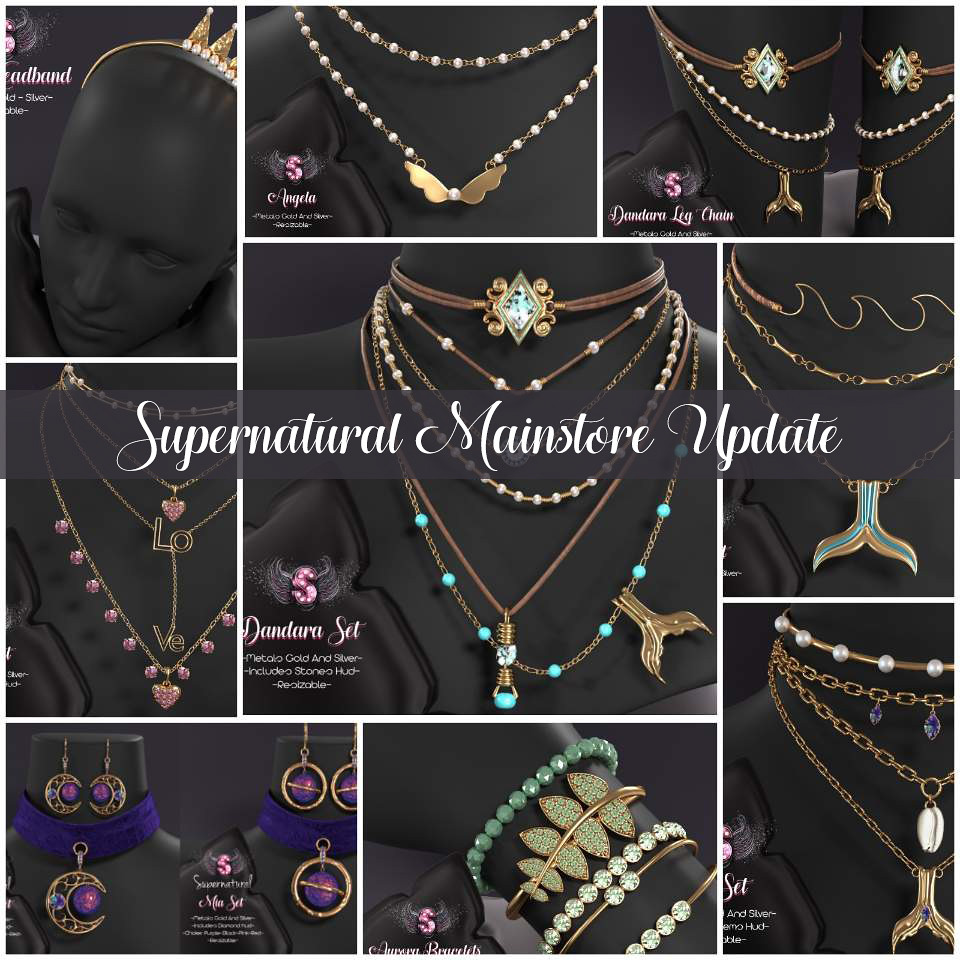 Supernatural Mainstore update ♥♥♥