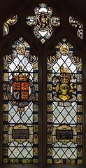 1819 1901 Queen Victoria memorial glass