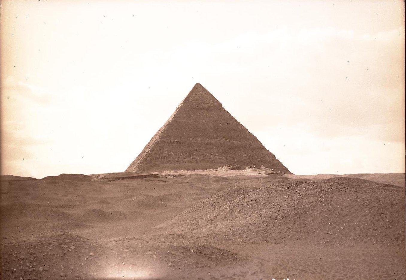 24. Египет. Гиза. Пирамида Хефрена