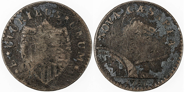 1787 New Jersey cent KM-14