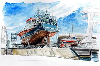 Lorient, port