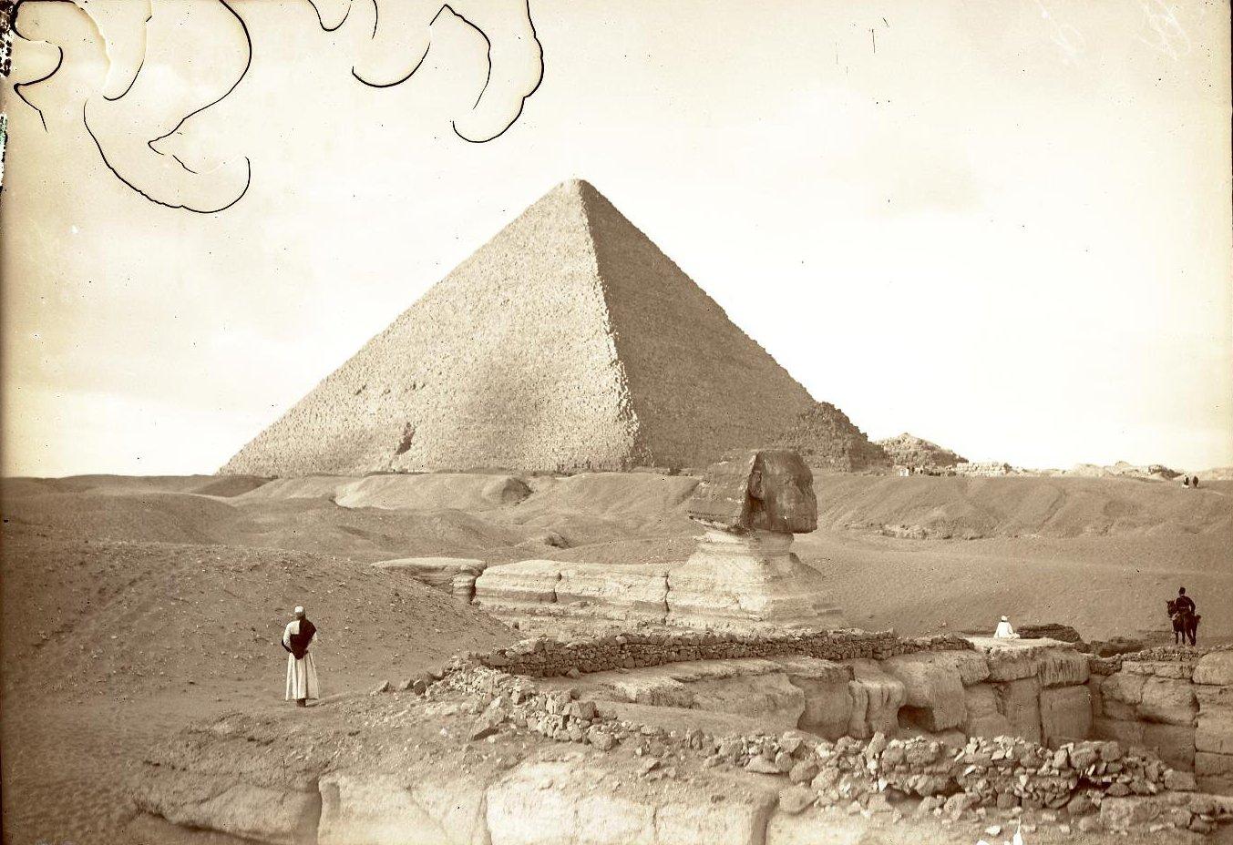 21. Египет. Гиза. Пирамида Хеопса