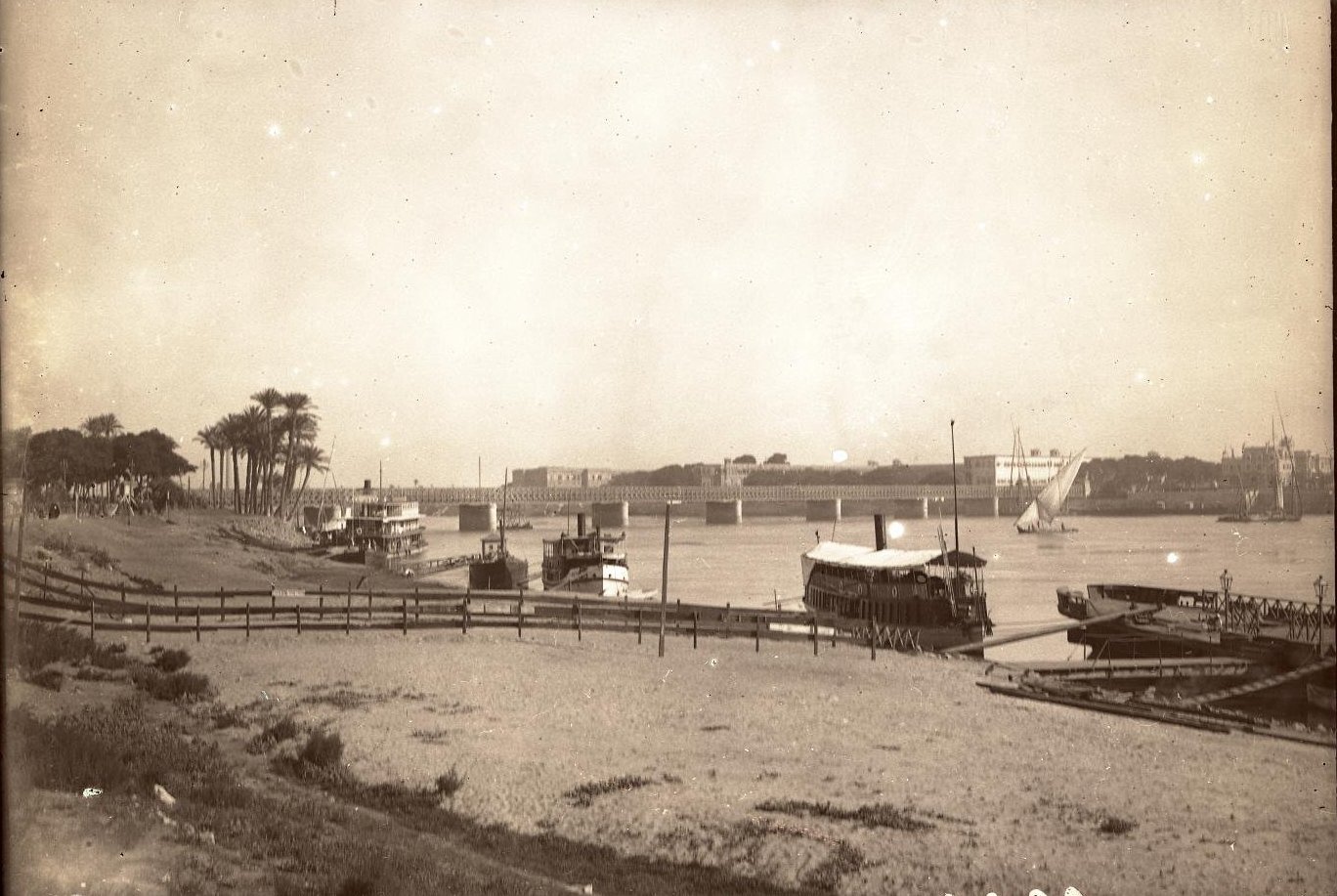 15. Египет. Каир. Мост через Нил