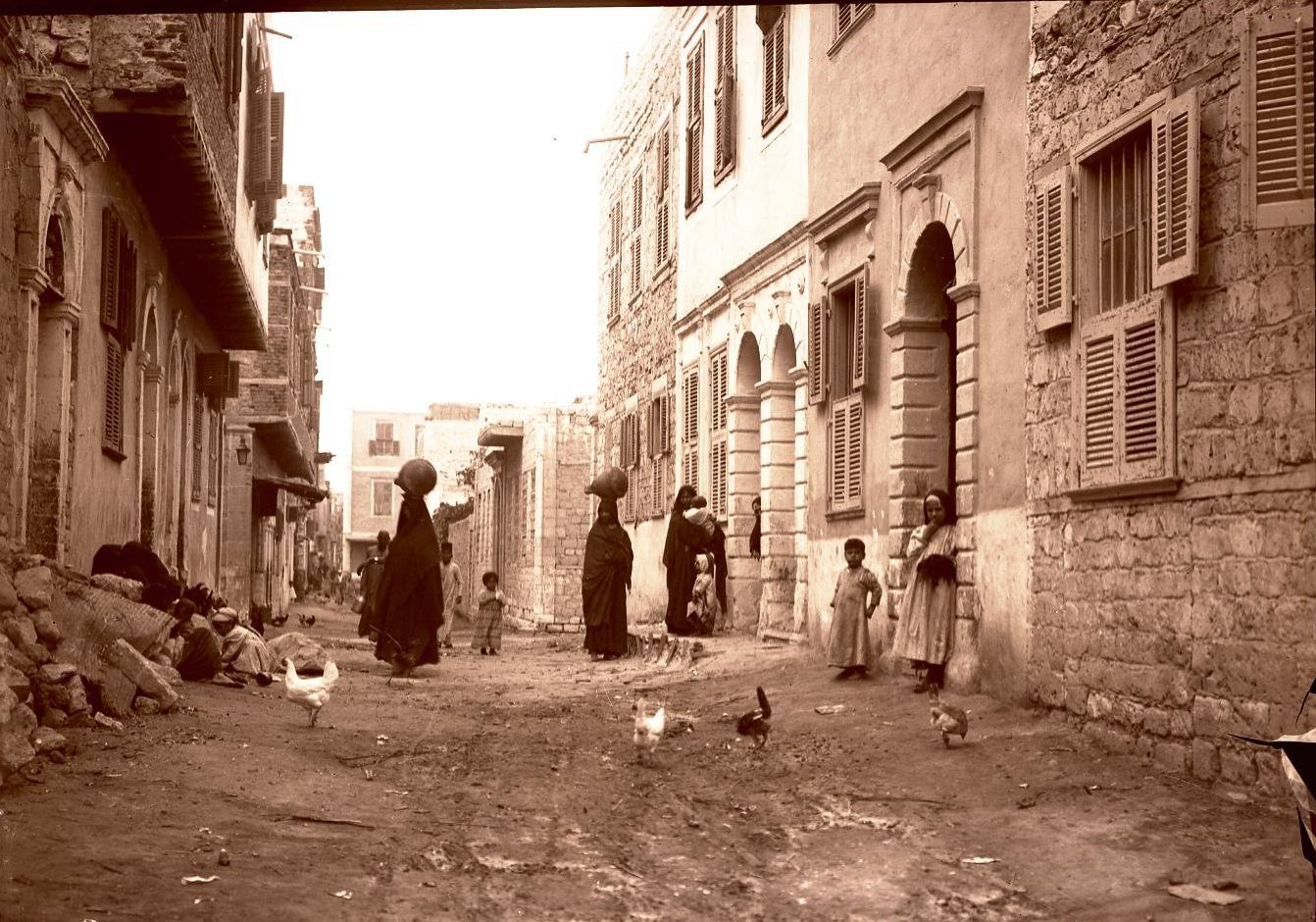 11. Египет. Александрия. Арабский квартал