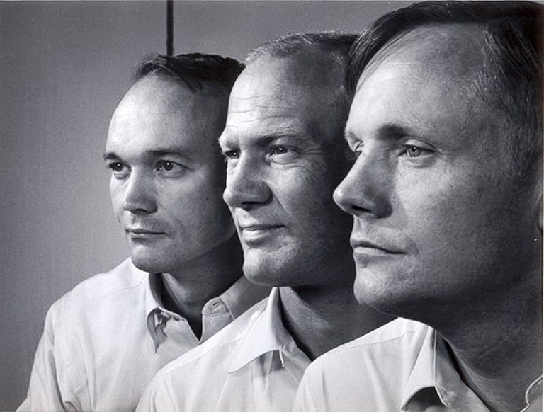 Collins, Aldrin and Armstrong, on Flickr