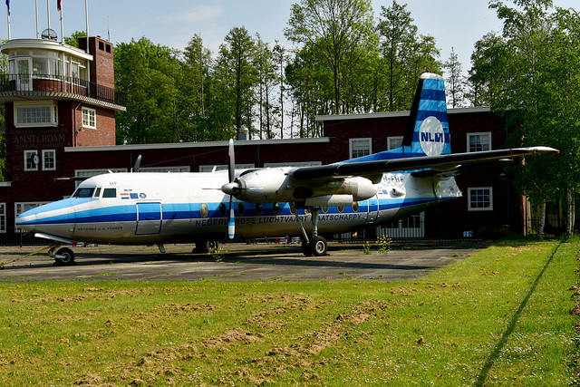 PH-FHF F27-100 cn 10105 Stichting Fokker Heritage Flight 190518 Lelystad 1001