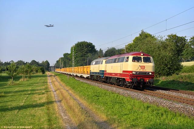AVG 217 002-5 + PR 218 472-9 @ Geilenkirchen
