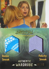 Arrow - Season 3 DM5 - Emily Bett Rickards as Felicity Smoak & Charlotte Ross as Donna Sloak