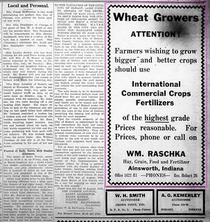 2019-07-14. Wheat growers, News, 8-16-1923