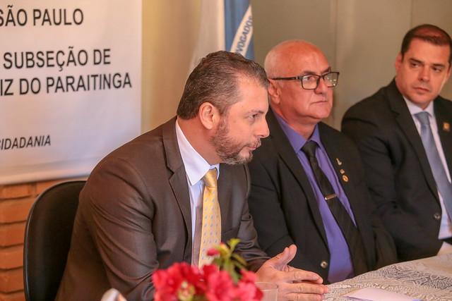 12.07/2019 - Dirigentes de Ordem visitam a 210ª Subseção de São Luiz do Paraitinga