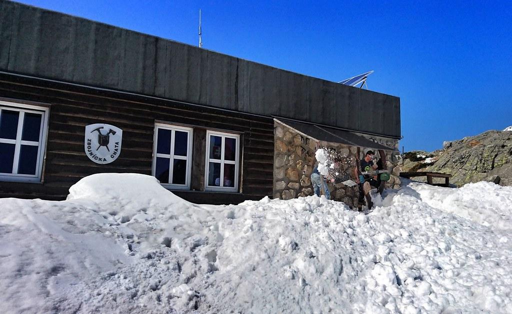Zbojnícka chata Vysoké Tatry Slowakei foto 01
