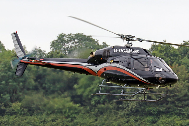 G-DCAM  -  Airbus Helicopters AS355NP Ecureuil  -  GB Helicopters  -  EGBT 14/7/19