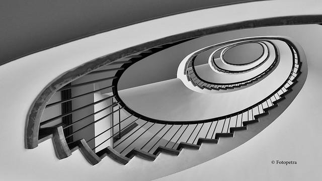 Hamburg Stairs Detjenhaus