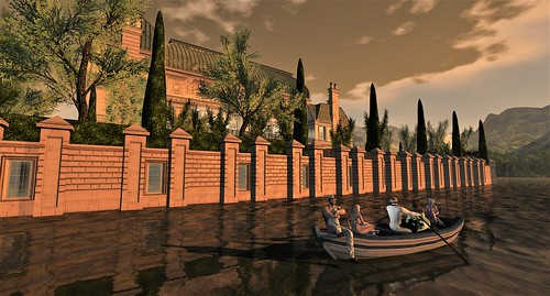 Boat Ride Angel Manor Estate