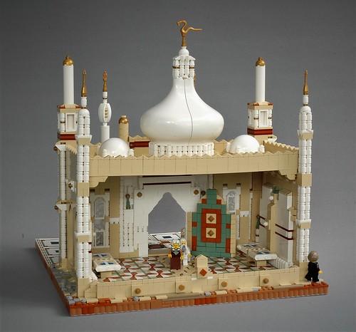Mophet temple - rear view