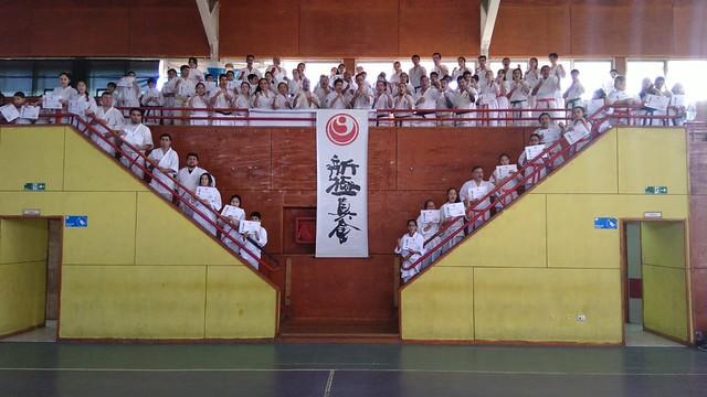 seminario regional de Shinkyokushin Katare