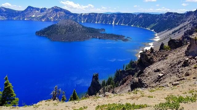 Crater Lake National Park July 13 2019