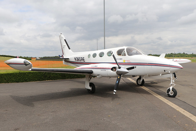 N365RE  -  Cessna 340A  -  Private  -  EGBT 14/7/19